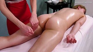 Irka Davalka, virgin body massage