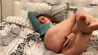 Cookie Deeply Sucks Neighbor's Dick, Fucks Him And Gets Orgasm