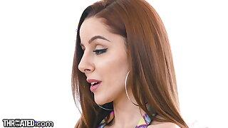 Throated - XXX Redhead Vanna Bardot Sloppily Throat Fucked
